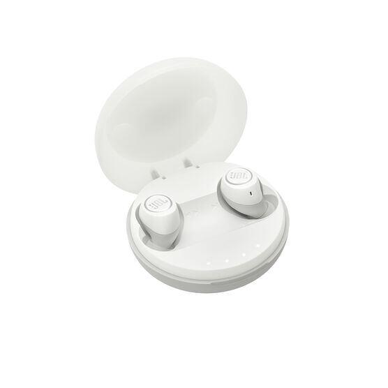 JBL Free - White - Truly wireless in-ear headphones - Hero