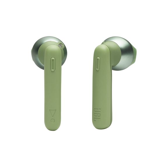 JBL TUNE 220TWS - Green - True wireless earbuds - Detailshot 1