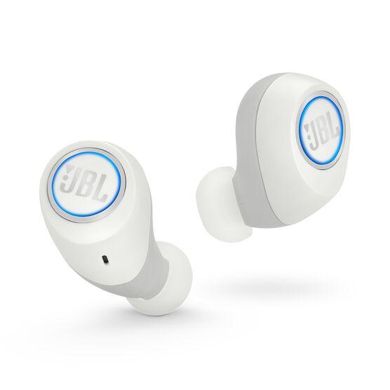 JBL Free - White - Truly wireless in-ear headphones - Front