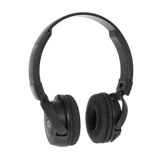 JBL T450BT - Black - Wireless on-ear headphones - Detailshot 15