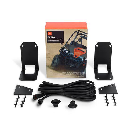 JBL SK300 Separation Kit - Black - 9.8'(3m) Bridge Umbilical with finishing plates - Hero