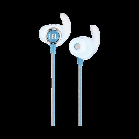 JBL REFLECT MINI 2 - Teal - Lightweight Wireless Sport Headphones - Detailshot 1