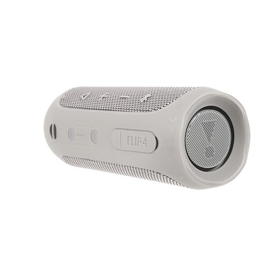 JBL Flip 4 - Grey - A full-featured waterproof portable Bluetooth speaker with surprisingly powerful sound. - Detailshot 15