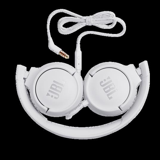JBL TUNE 500 - White - Wired on-ear headphones - Detailshot 1