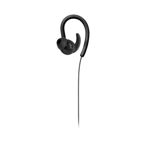 Reflect Contour - Black - Secure fit wireless sport headphones - Front