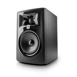 "JBL 305P MkII - Black - Powered 5"" Two-Way Studio Monitor - Hero"