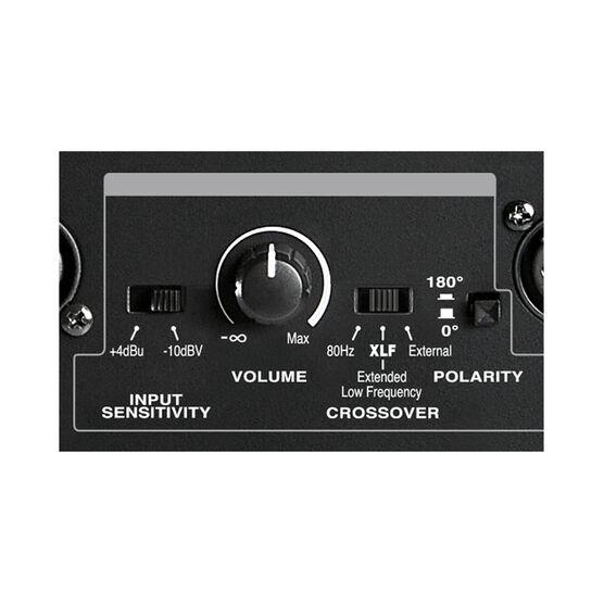 """JBL LSR310S - Black - 10"""" Powered Studio Subwoofer - Detailshot 3"""