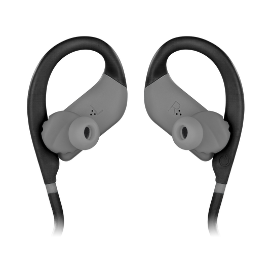 JBL Endurance JUMP - Black - Waterproof Wireless Sport In-Ear Headphones - Detailshot 3