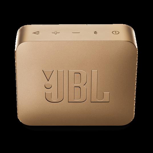 JBL GO 2 - Pearl Champagne - Portable Bluetooth speaker - Back