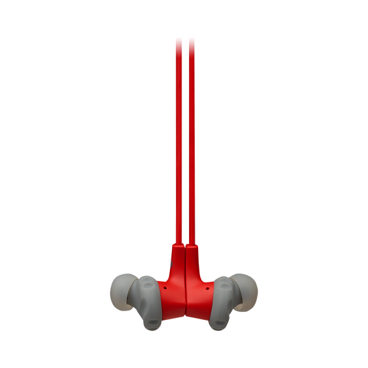 JBL Endurance RUNBT - Red - Sweatproof Wireless In-Ear Sport Headphones - Detailshot 3