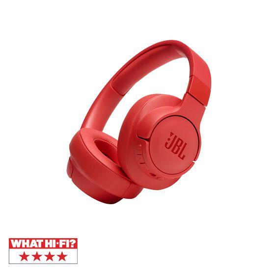 JBL TUNE 750BTNC - Coral Orange - Wireless Over-Ear ANC Headphones - Hero
