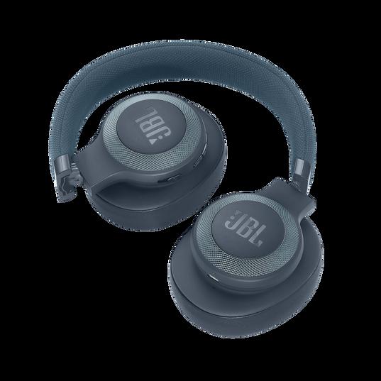 JBL E65BTNC - Blue - Wireless over-ear noise-cancelling headphones - Detailshot 2