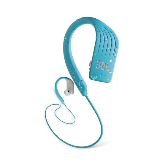 JBL Endurance SPRINT - Teal - Waterproof Wireless In-Ear Sport Headphones - Hero