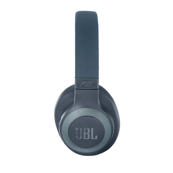 JBL E65BTNC - Blue - Wireless over-ear noise-cancelling headphones - Left