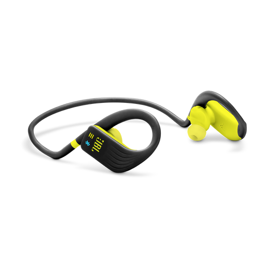 JBL Endurance DIVE - Yellow - Waterproof Wireless In-Ear Sport Headphones with MP3 Player - Detailshot 4