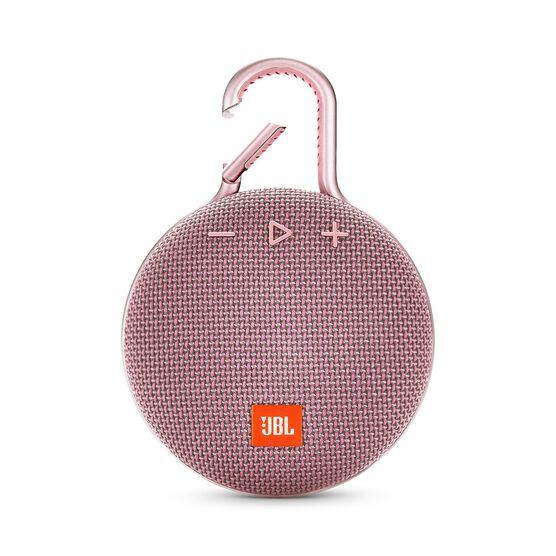 JBL CLIP 3 - Dusty Pink - Portable Bluetooth® speaker - Front