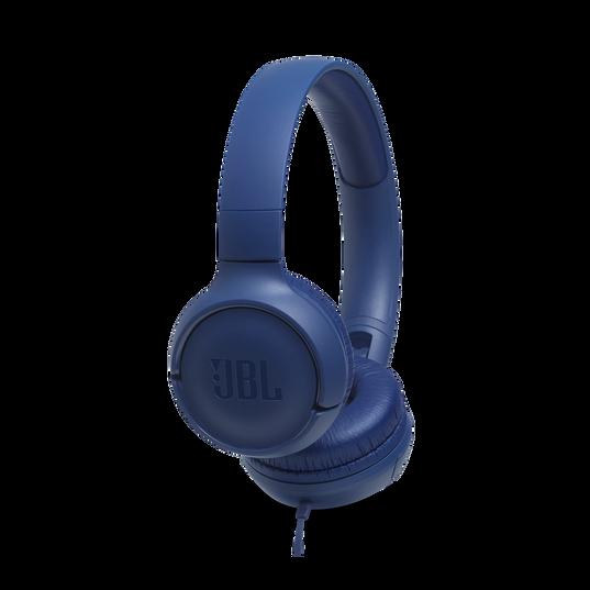 JBL TUNE 500 - Blue - Wired on-ear headphones - Hero