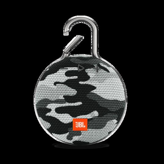 JBL CLIP 3 - Black/White Camouflage - Portable Bluetooth® speaker - Hero