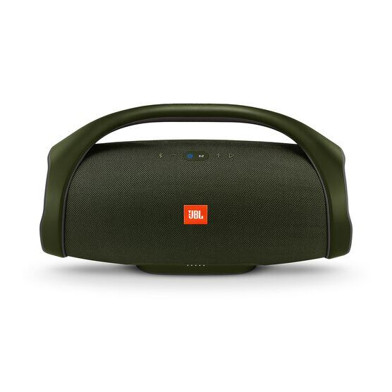 JBL Boombox - forest green - Portable Bluetooth Speaker - Front