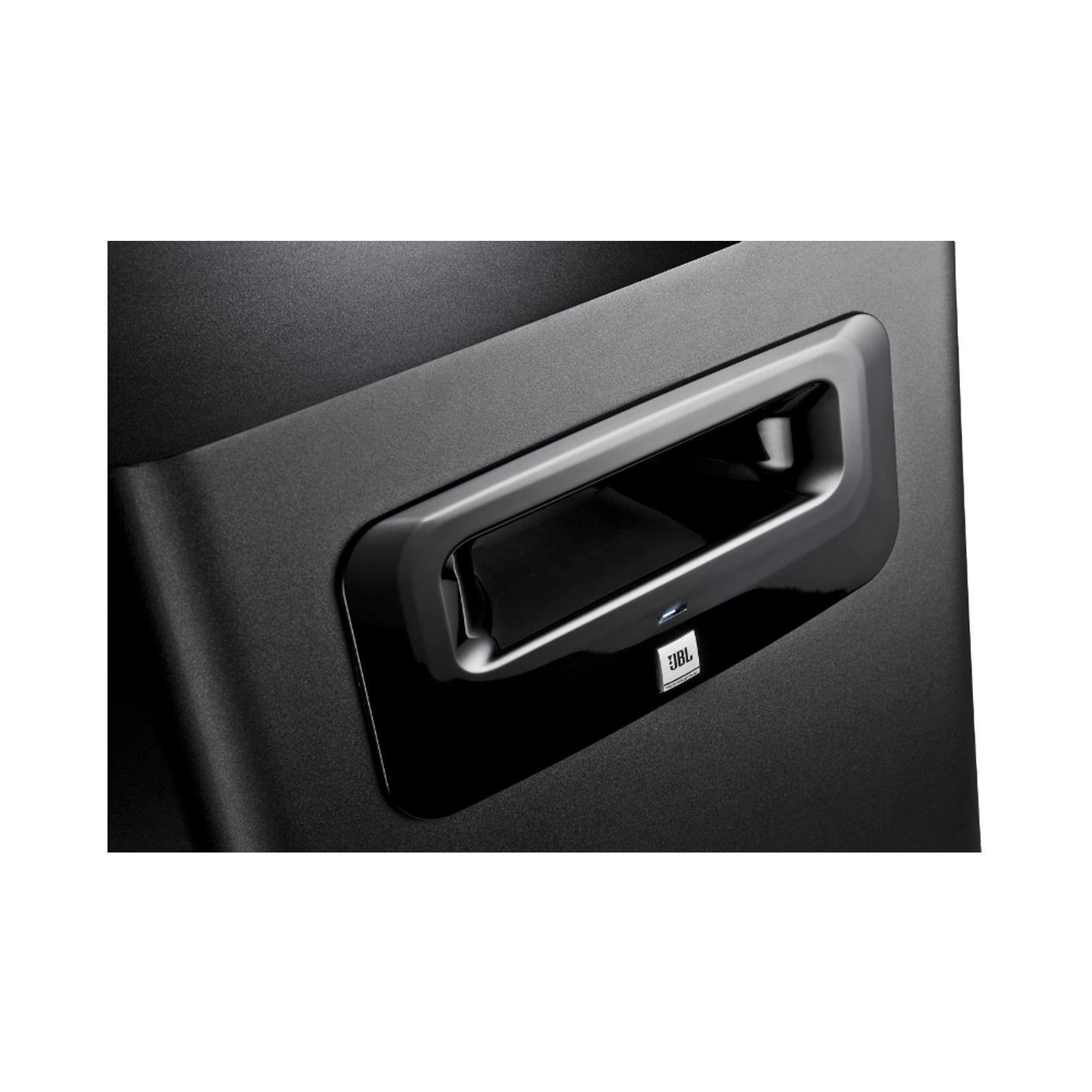"""JBL LSR310S - Black - 10"""" Powered Studio Subwoofer - Detailshot 1"""