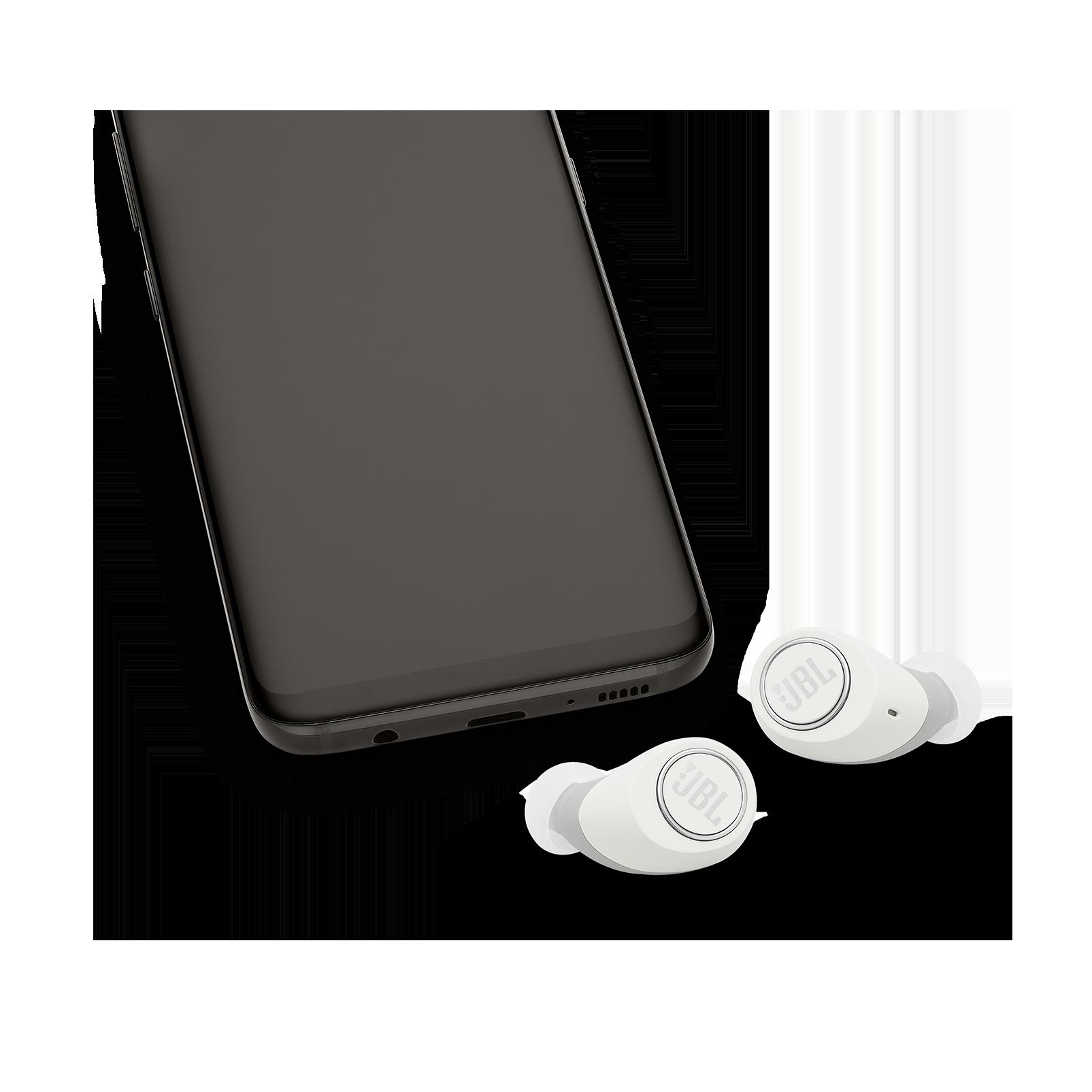 JBL Free - White - Truly wireless in-ear headphones - Detailshot 4
