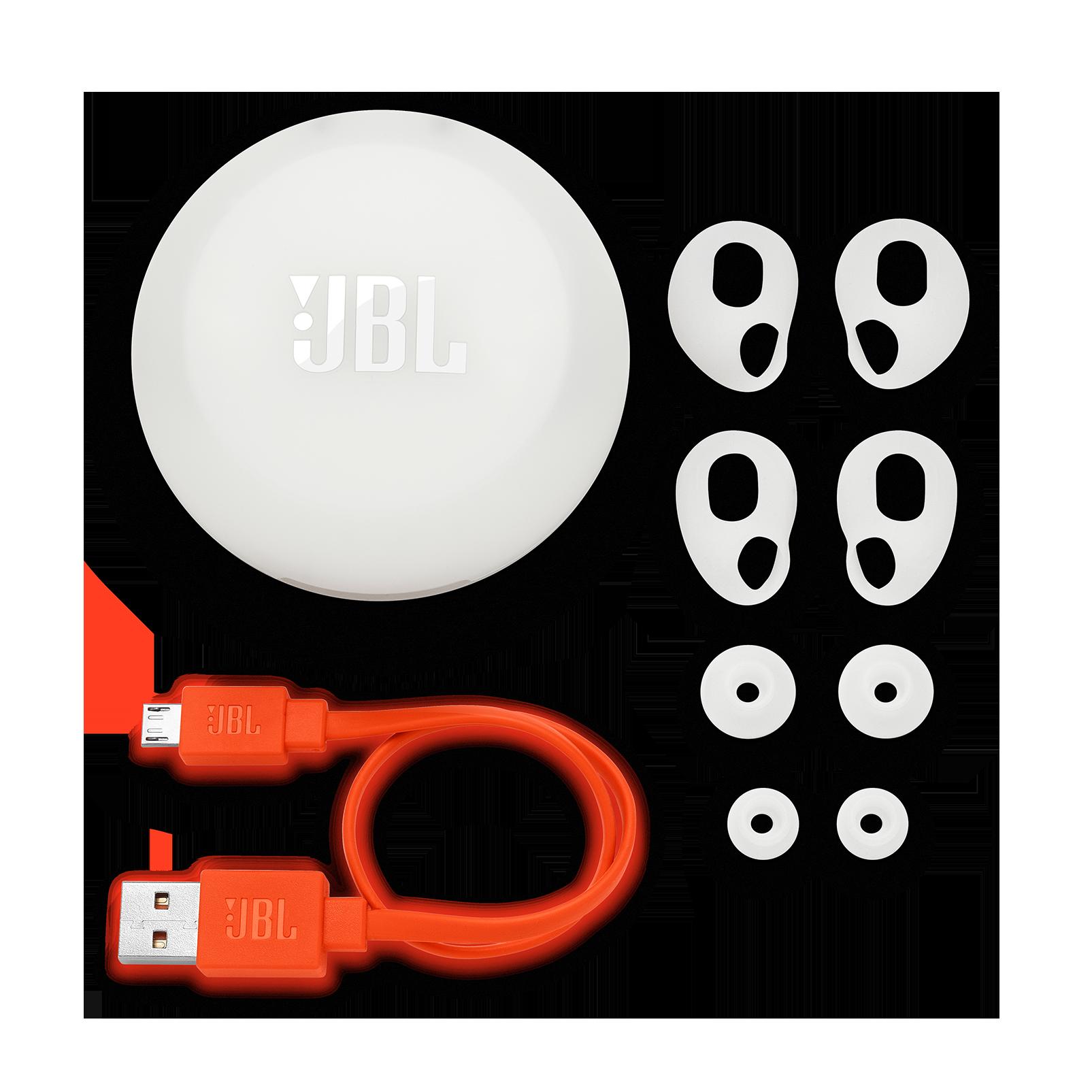 JBL Free - White - Truly wireless in-ear headphones - Detailshot 3