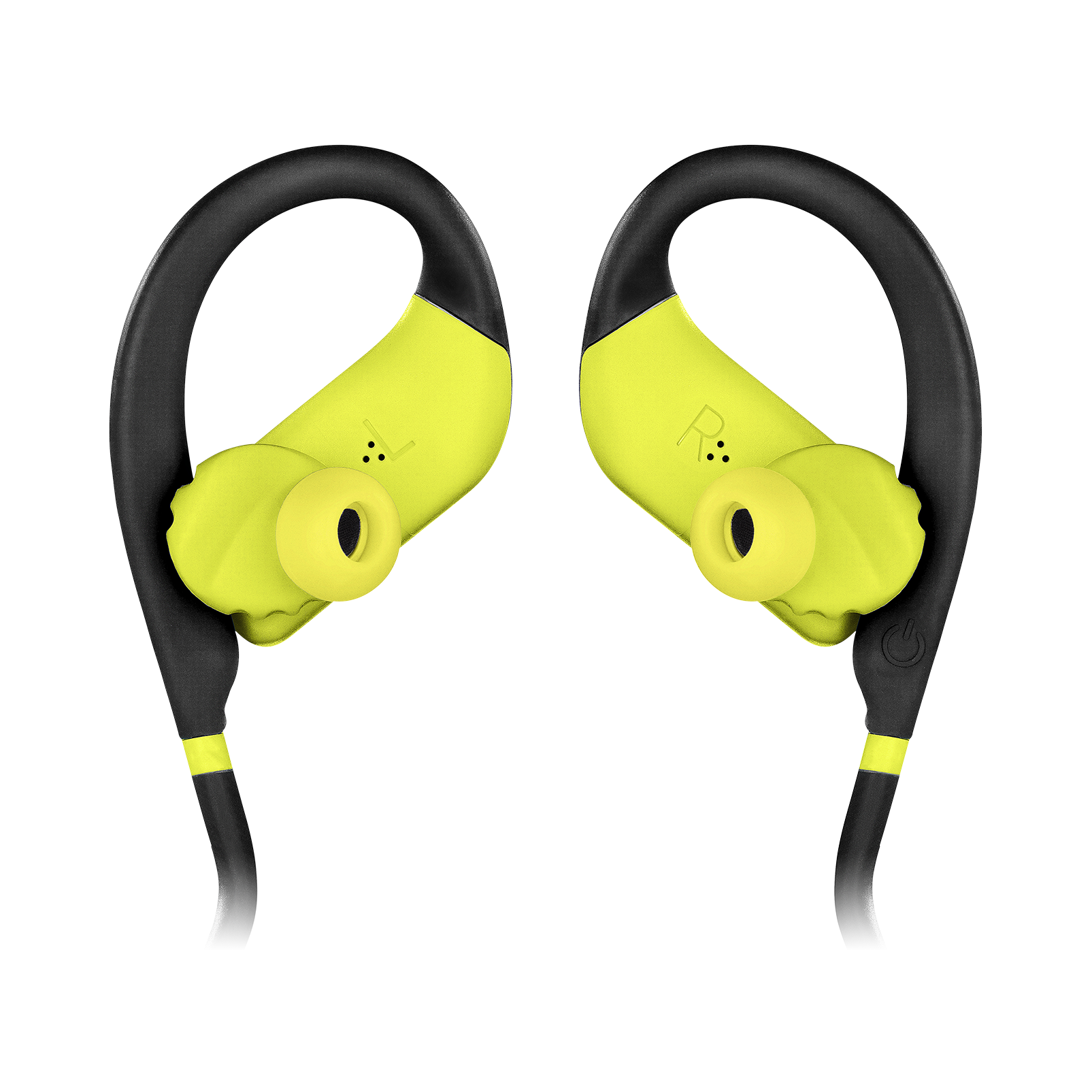JBL Endurance DIVE - Yellow - Waterproof Wireless In-Ear Sport Headphones with MP3 Player - Detailshot 1
