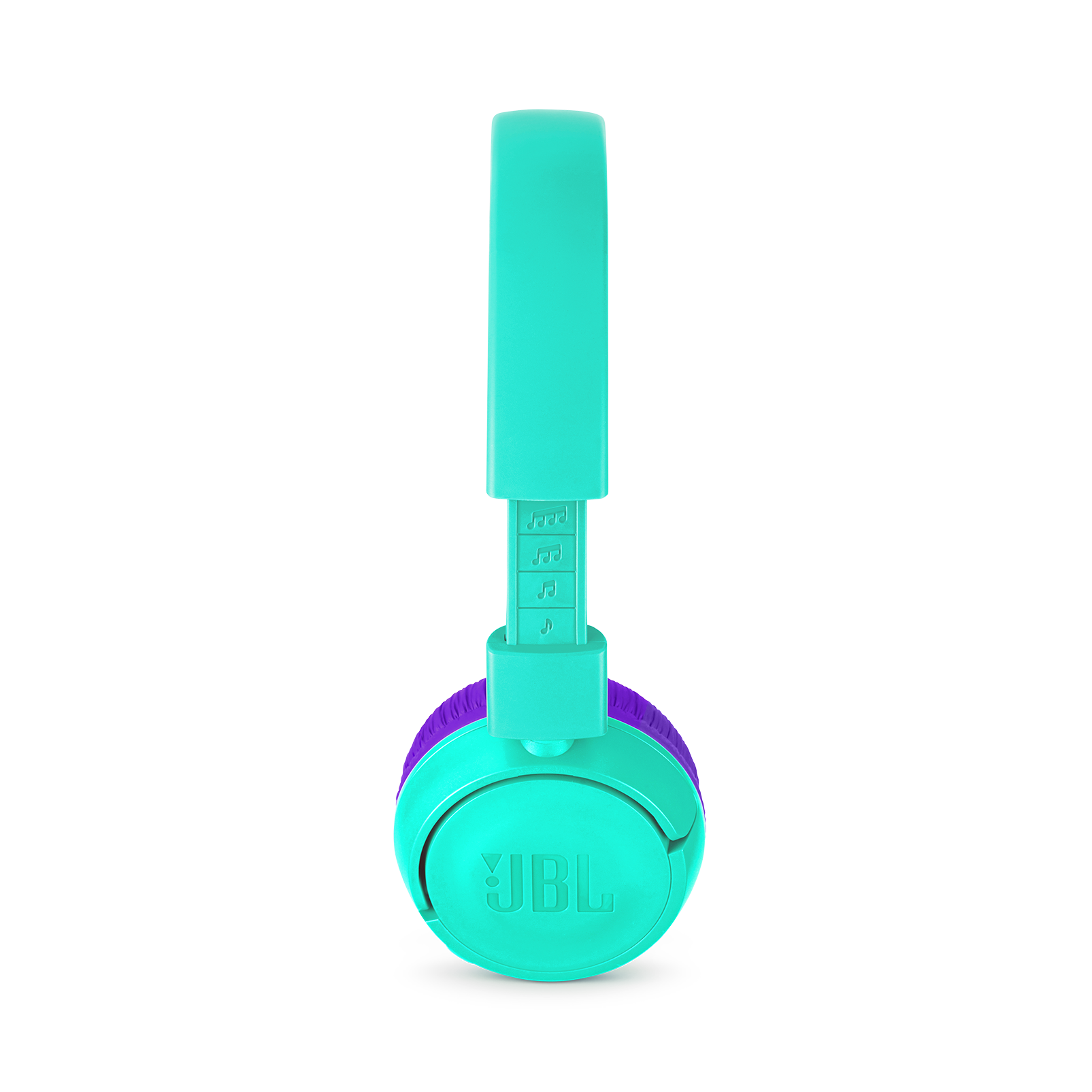 JBL JR300BT - Tropic Teal - Kids Wireless on-ear headphones - Detailshot 1