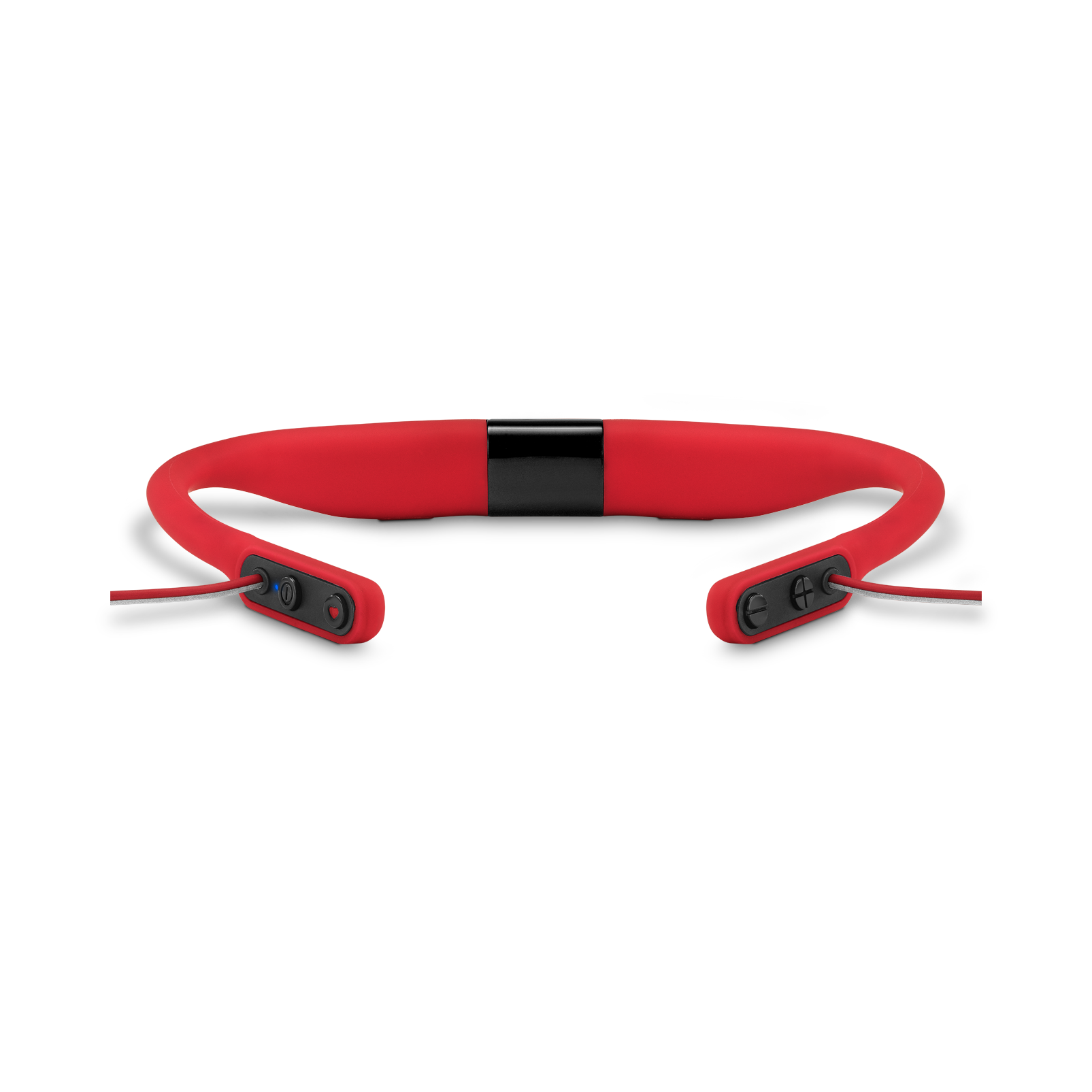 JBL Reflect Fit - Red - Heart Rate Wireless Headphones - Detailshot 2