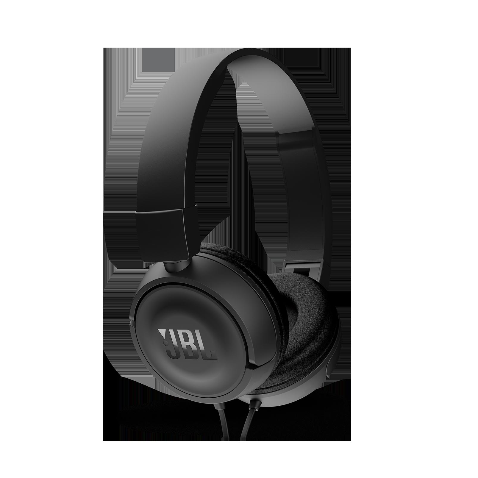 JBL T450 - Black - On-ear headphones - Detailshot 2