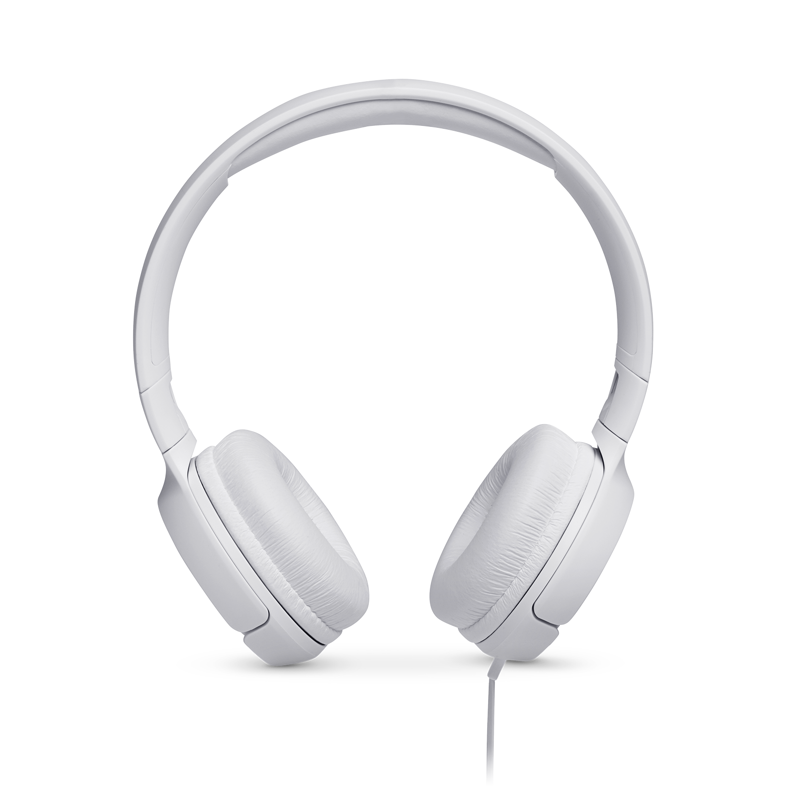 JBL TUNE 500 - White - Wired on-ear headphones - Front