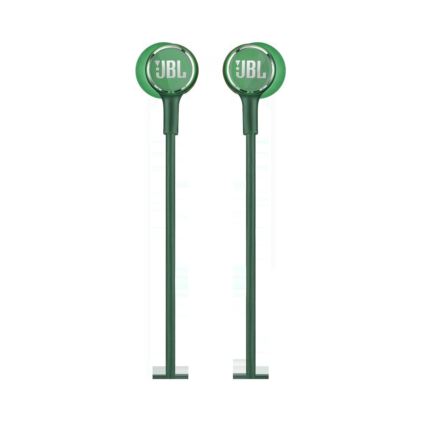 JBL LIVE 100 - Green - In-ear headphones - Front
