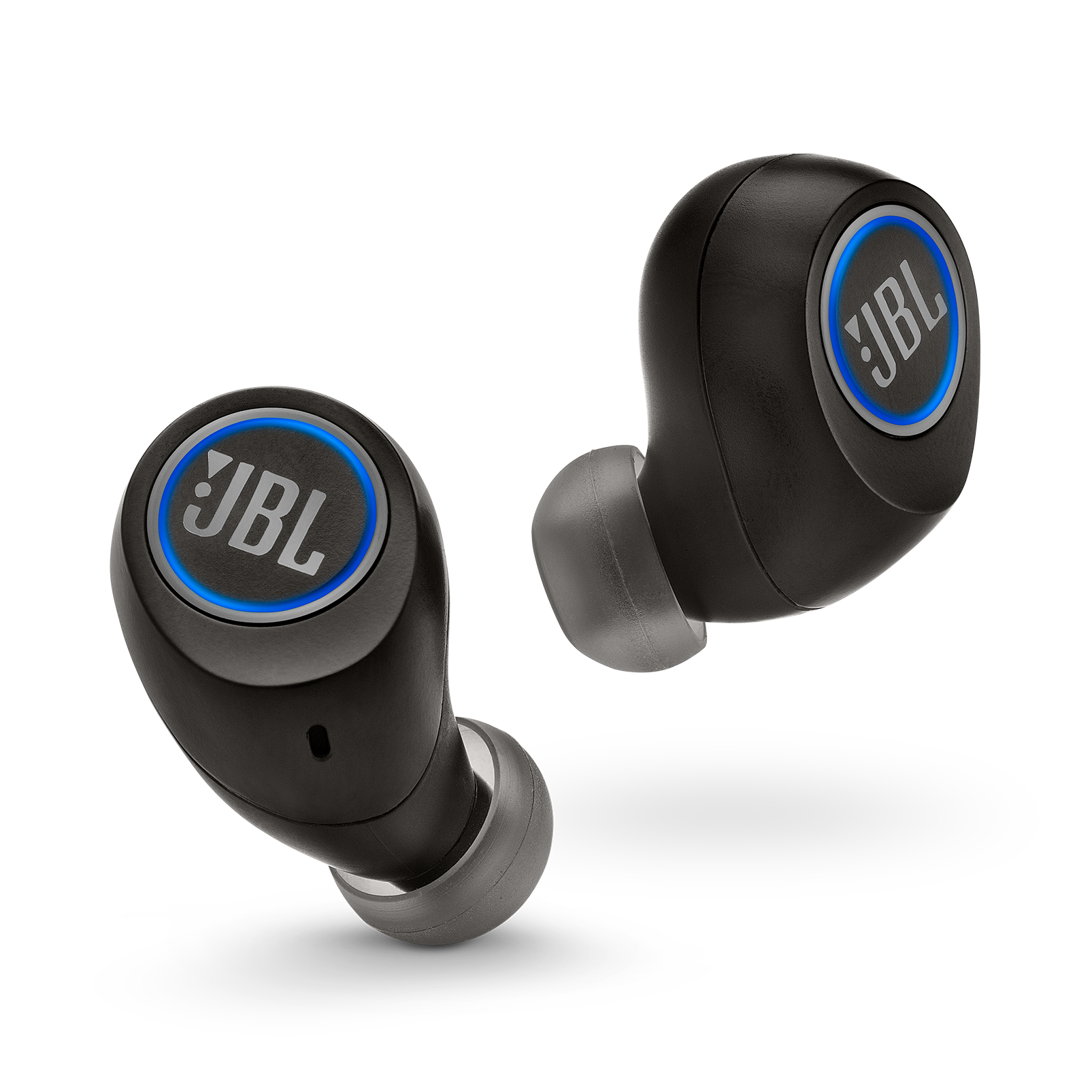 JBL Free - Black - Truly wireless in-ear headphones - Front