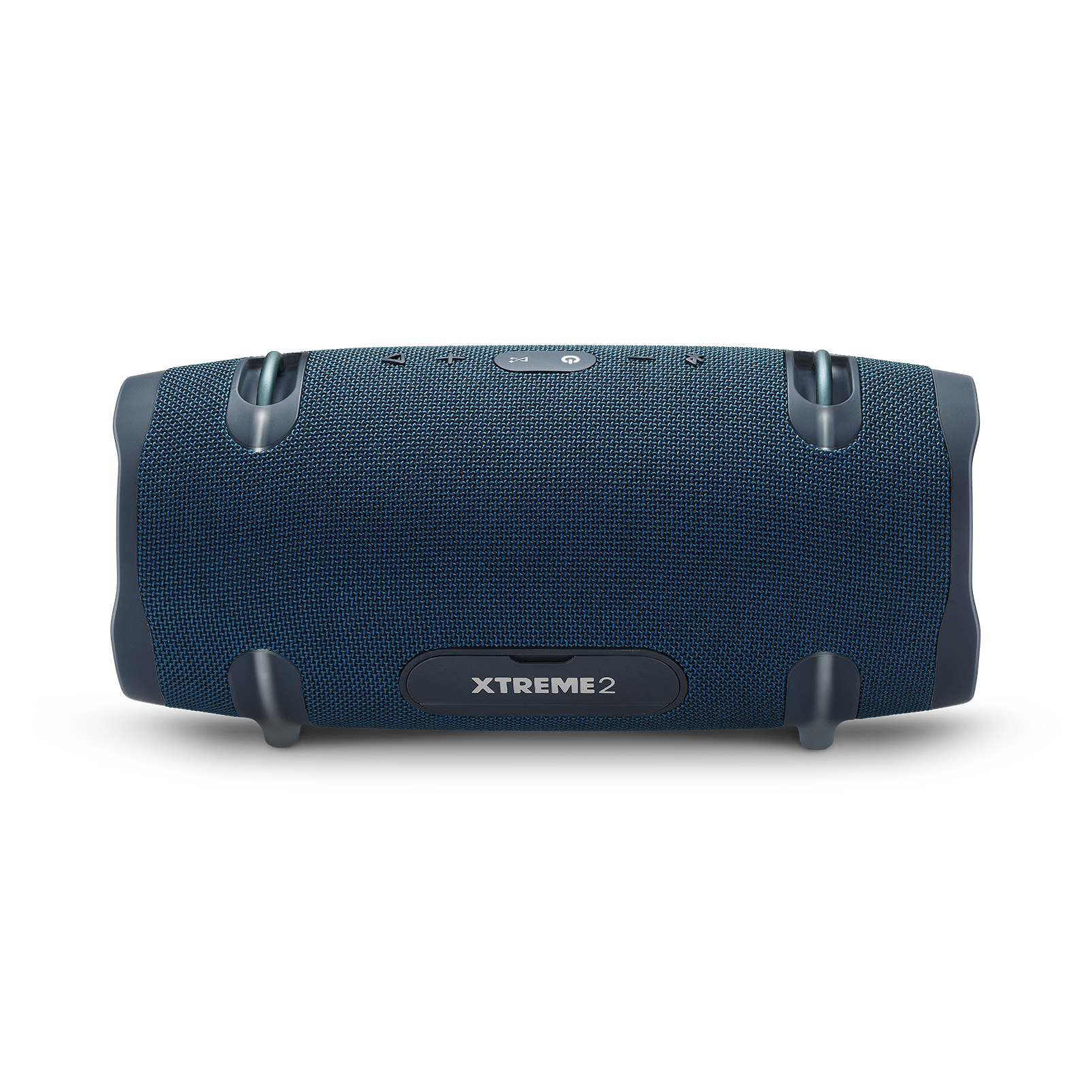 JBL Xtreme 2 - Ocean Blue - Portable Bluetooth Speaker - Back