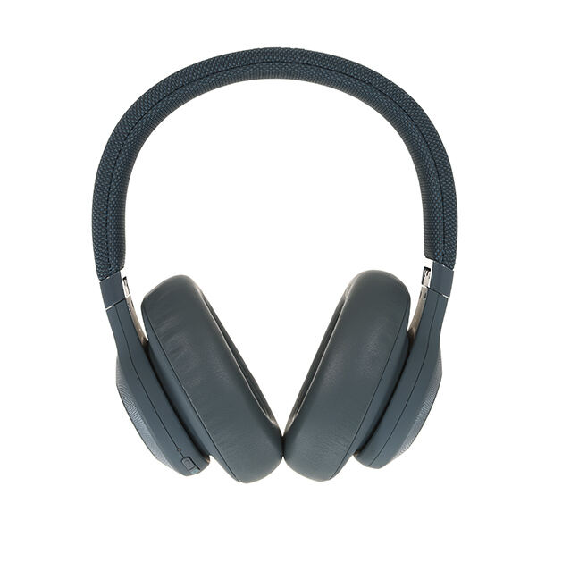 JBL E65BTNC - Blue - Wireless over-ear noise-cancelling headphones - Detailshot 15