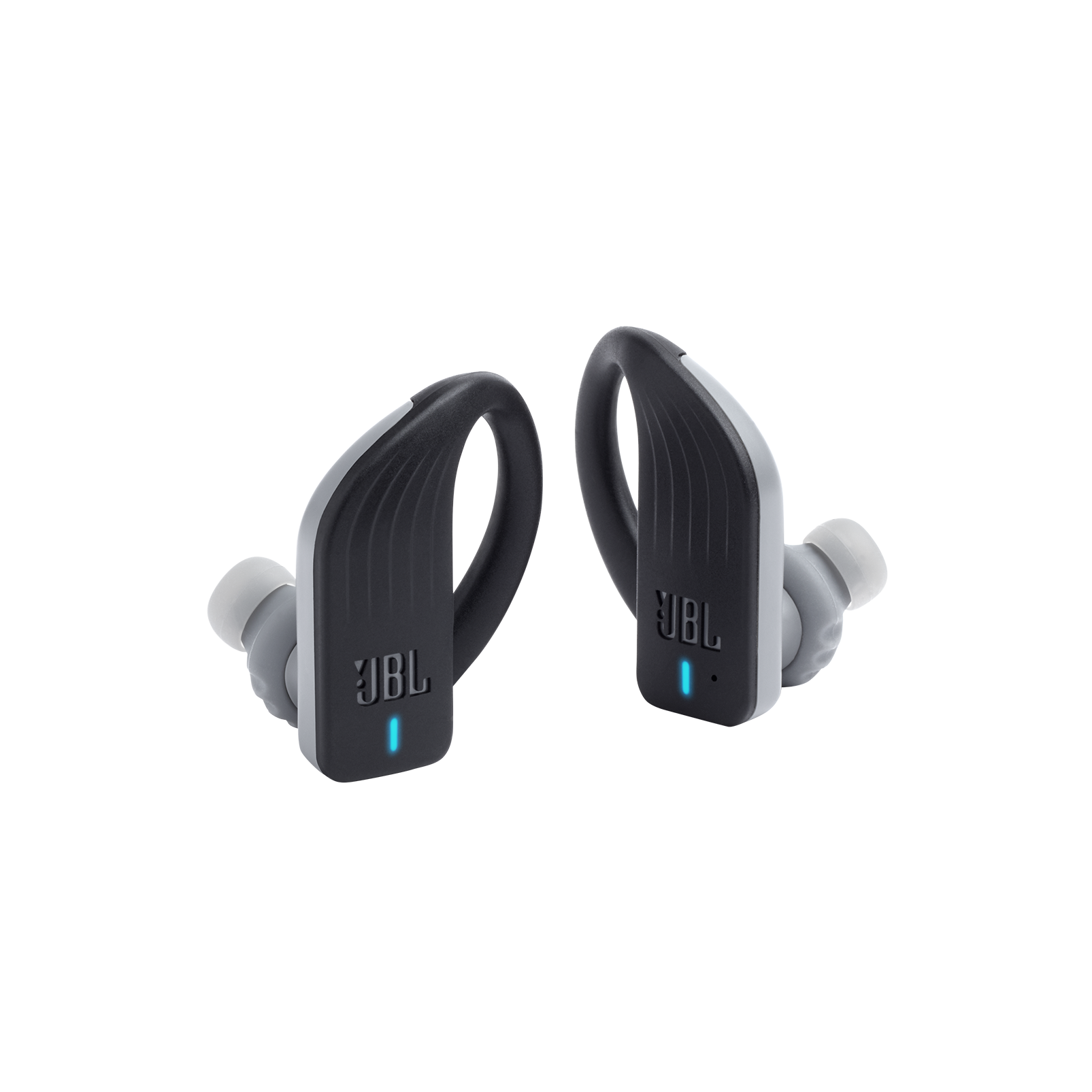 JBL Endurance PEAK - Black - Waterproof True Wireless In-Ear Sport Headphones - Detailshot 3